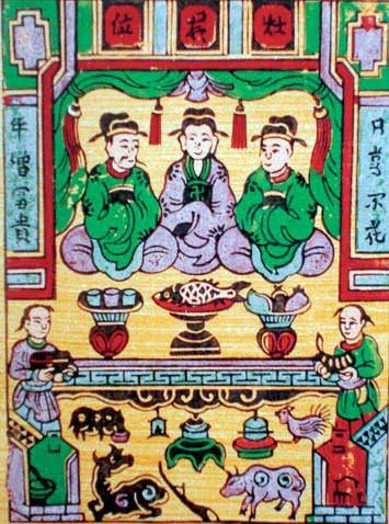 Truyền thuyết Việt Nam về Tết ông Công ông Táo