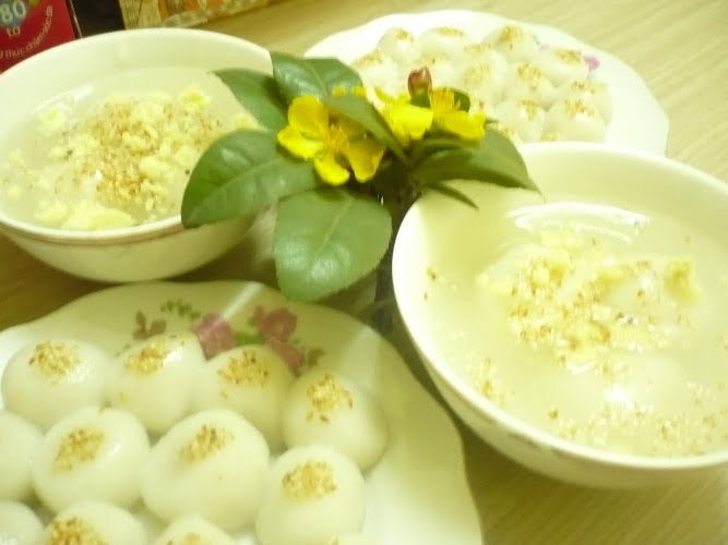 Sự tích bánh trôi chay trong phong tục người Việt.
