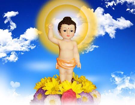 Lễ Phật đản là ngày kỷ niệm  Đức Phật ra đời.