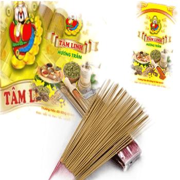 Hương que ống ngắn (29 cm) nhãn hiệu Tâm Linh Hương Trầm