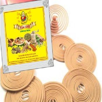 Hương vòng 1 ngày được  pha chế từ hơn 40 loại thảo mộc