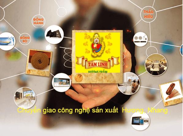 Chuyển giao công nghệ sản xuất Hương, Nhang cao cấp